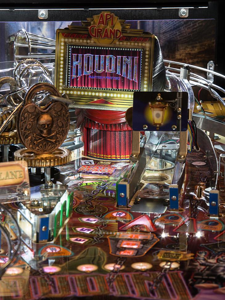 Houdini Master Of Mystery American Pinball